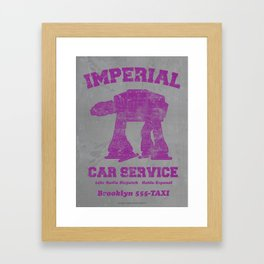 Imperial Car Service Framed Art Print