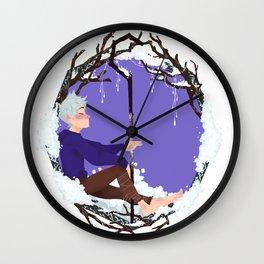 Jack Frost Circlet Wall Clock