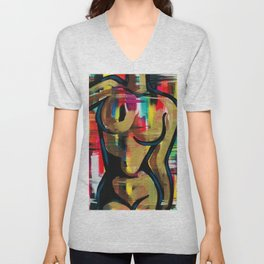 His MUSE Unisex V-Neck