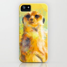 Dear Little Meerkat iPhone Case