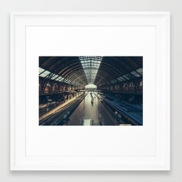 Sao Paulo Train Station Framed Art Print