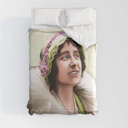 QUEEN ELIZABETH - QUEEN MOTHER IN HER YOUTH Comforters