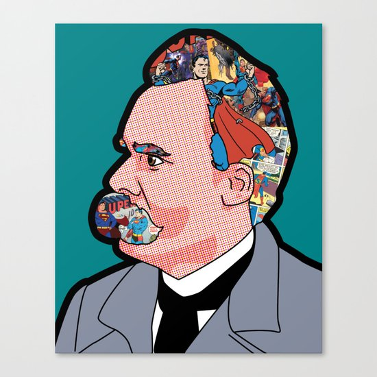 Mix - Nietzsche Canvas Print
