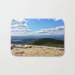 Summit View, Pleasant Mountain, Maine (2) Bath Mat