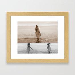 Siren Framed Art Print