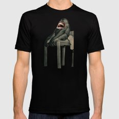 Monkey MEDIUM Mens Fitted Tee Black