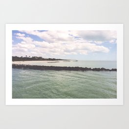 florida waters Art Print