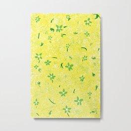 Spring Flowers Before April Showers Metal Print