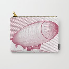 Airship engraving Carry-All Pouch