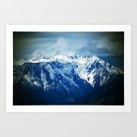 Mountain Blues Art Print