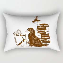 Te Reo Maori Language Rectangular Pillow
