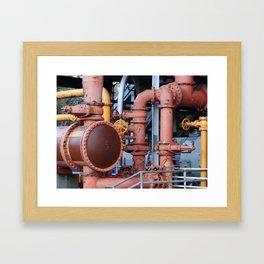 Gasworks Park - Seattle Washington Framed Art Print
