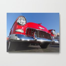 '55 Chevy Bel Air Metal Print