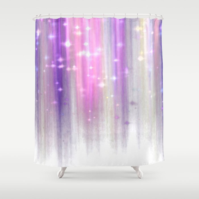 lights curtain a Shower Curtain