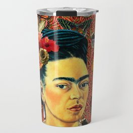 FRIDA bUTTERFLYS Travel Mug