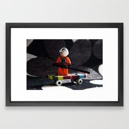 Star Wars Dude Framed Art Print