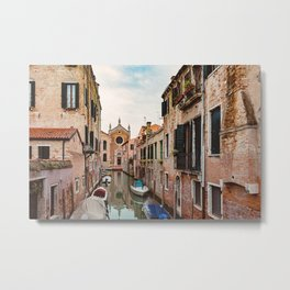 Venice Italy Canal #1 Metal Print