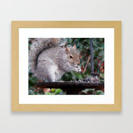 You hold it like this, see? Framed Art Print