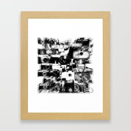 analogue legends II Framed Art Print