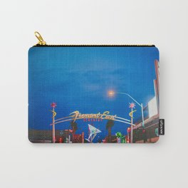 Las Vegas Fremont Street Downtown Carry-All Pouch