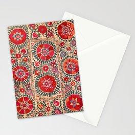 Samarkand Suzani Southwest Uzbekistan Embroidery Stationery Cards