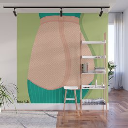 pink knickers Wall Mural