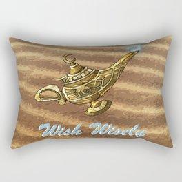 Magic Genie Lamp Rectangular Pillow