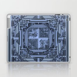 looking for something (black and gray) Laptop & iPad Skin
