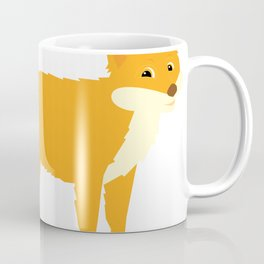Cartoon Fox Coffee Mug