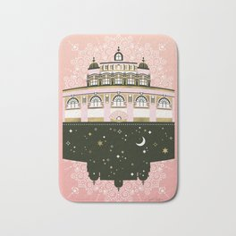 Budapest Bath House – Peach & Gold Palette Bath Mat