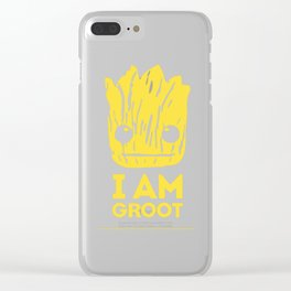 I am guardian Clear iPhone Case