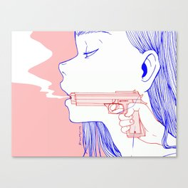 Trigger-happy Canvas Print