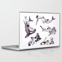 iwatobi Laptop & iPad Skins featuring For the Team by blue