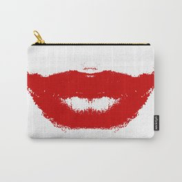 Lipstick Smudge on Tissue Carry-All Pouch