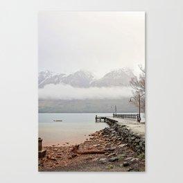 Glenorchy Jetty Canvas Print