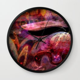 Elements IV - A Confluence of Apparitions Wall Clock