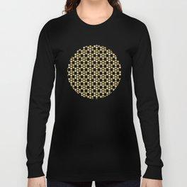 Golden Honeycomb Long Sleeve T-shirt