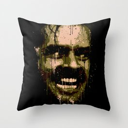 Here's Johnny! Throw Pillow