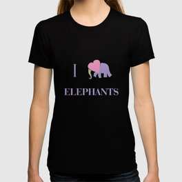 I Heart Elephants T-shirt