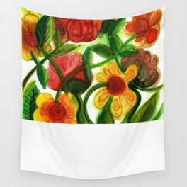 Flowers to Daniel Wall Tapestry