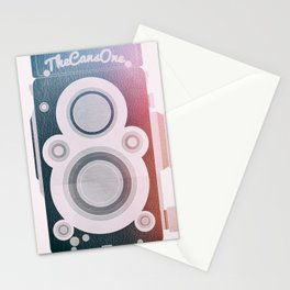 Twin Lens Reflex Camera _ Photography Addicted Stationery Cards