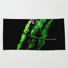 Genji Beach Towel