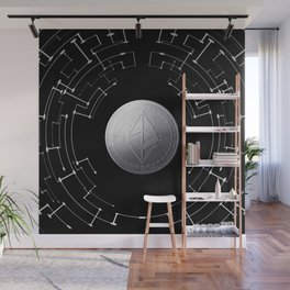 Ethereum Space Wall Mural