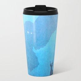 Owl Summoner: Blue Haze Travel Mug