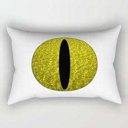 Cat's Eye-Yellow Rectangular Pillow