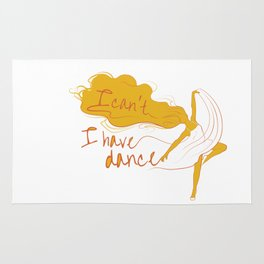 I can't, I have dance - Yellow Rug