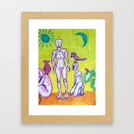 3B's Framed Art Print