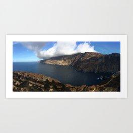 Sliabh Liag (Slieve League), Co. Donegal, Ireland Art Print