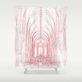Inside Church Shower Curtain
