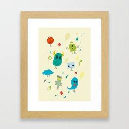 I mostri Framed Art Print